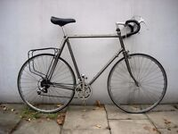 Vintage 80's Mens Road/ Touring/ Bike by Raleigh, 63 cm Reynolds 531, JUST SERVICED/ CHEAP PRICE!!!!