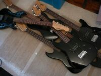Cheap electric guitars ENCORE stratocaster style £15 each read
