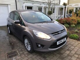 2014 FORD CMAX 2.0 TDCI TITANIUM POWERSHIFT - VERY LOW 3500 MILES - FULL FORD SERVICE HISTORY