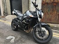 Gsr 600, 2010, naked, Matt black, good condition
