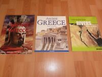 Ancient Greece books and Rivers