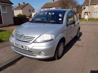 Citroen C3 5dr Automatic lady owners 1 Year MOT, Good Condition.