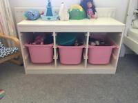 Ikea trofast storage toy box