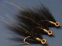 flies + fly tying materials,3d eyes,crystal flash,flashabou,super hair,pike,salmon,trout,bass flies