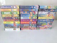 30 Disney VHS tapes