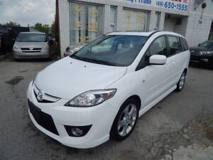 2009 Mazda MAZDA5 LEATHER SUNROOF 6 PASSENGER