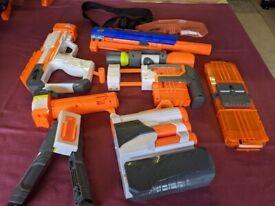 Nerf Gun Collection £50