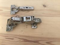 Kitchen and bedroom hinges