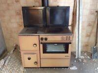 Solid fuel stove, £250