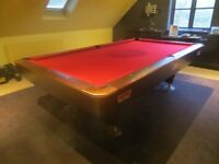Excellent 9ft BCE American Pool Table With Free Delivery and Installation
