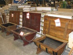CLEARANCE PRICED - CUSTOM WINE BARREL COFFEE TABLES