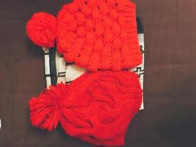 Hats and scarf for sale Bargain!!!!