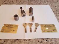 Banham lock and keys