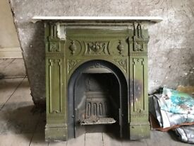3 Victorian fireplaces for sale