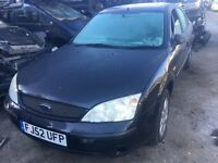 2002 FORD MONDEO ZETEC 16V (MANUAL PETROL FOR PARTS ONLY