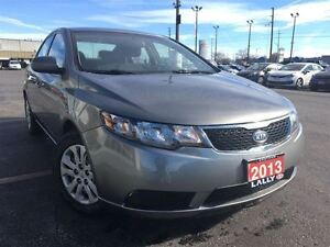2013 Kia Forte LX $41/week, $0 down, OAC, includes HST & License