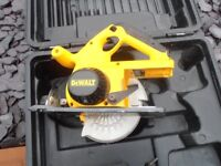 Dewalt 24volt Power Saw No batteries