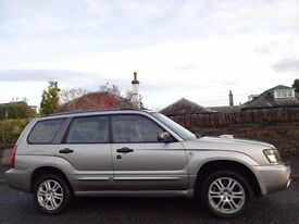 (2004) SUBARU Forester 2.5 XT 208 BHP 4WD - Doctor Owned- Heated Leather - Sat-Nav - FSH (13 Stamps)