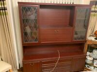 FREE! - Mahogany display cabinet