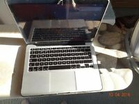 Macbook Pro Retina Display 13 inch Early 2015 FREE Case, Screen protector, EXTRA apple charger