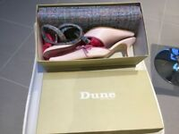 Ladies Dune Shoes and Matching Clutch Bag