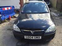 2004 Vauxhall Corsa 1.2 SXI 3 Door Black Non Runner £200 fiesta Yaris micra golf Astra polo punto