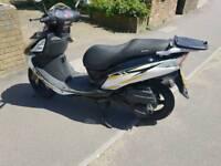 125cc Sinnis Moped