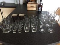 Glasses,mugs and plates