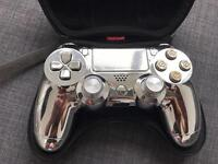 Playstation customed controller chrome £60