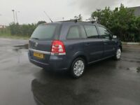 2010 {59 REG} 7 SEATER VAUXHALL ZAFIRA 1.6 MANUAL IN CLEAN CONDITION. LONG MOT. 2 OWNERS. 2 KEYS