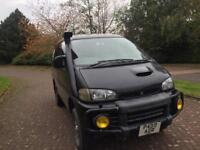 Mitsubishi delica space gear exceed 2.8 turbo diesel automatic 1 year mot 7 seater 4wd