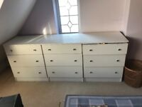 3 unit Chest if drawers