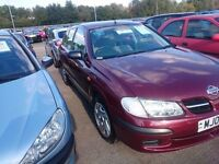 2002 NISSAN ALMERA 1.8...AUTOMATIC...LOW MILES