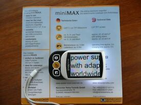 Reinecker Mini Max sliding electronic magnifier(Vision Aid)