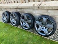 Alloy Wheels and Tyres - most of them Powdercoated