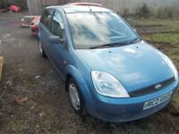 Ford, FIESTA, Hatchback, 2003, Manual, 1299 (cc), 5 doors £195 [SOLD]