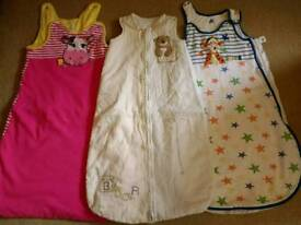 Girls 6-18 months sleeping bags