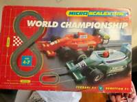 Scalextric world championship spares repairs