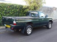 2003 MITSUBISHI L200 TD LWB 4WD Single Cab Pick-Up 2.5 Litre
