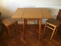 Retro Formica Kitchen Table & Stools