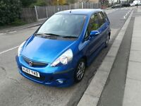 Honda Jazz 1.4 I-DSI Sport Petrol Manual 5 Door Hatchback 2007, Only 1 Owner Only 86409 miles.£1995
