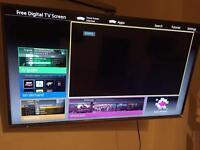 "Panasonic Internet TV - TX40CS520B - 40"" Full HD - Smart 1080 Led Time with Freetime"