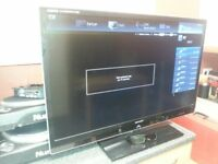 please read ad over 40 inch smart 3d lcd freeview 4 x hmdi internet tv and 3 d glasses