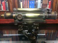 Antique Brass Theodolite
