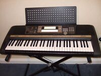 YAMAHA PSR640 Keyboard + Stand + Cover + Power Supply + Owners Manual
