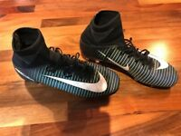 Nike Mercurial sock boots size 4.5 excellent condition