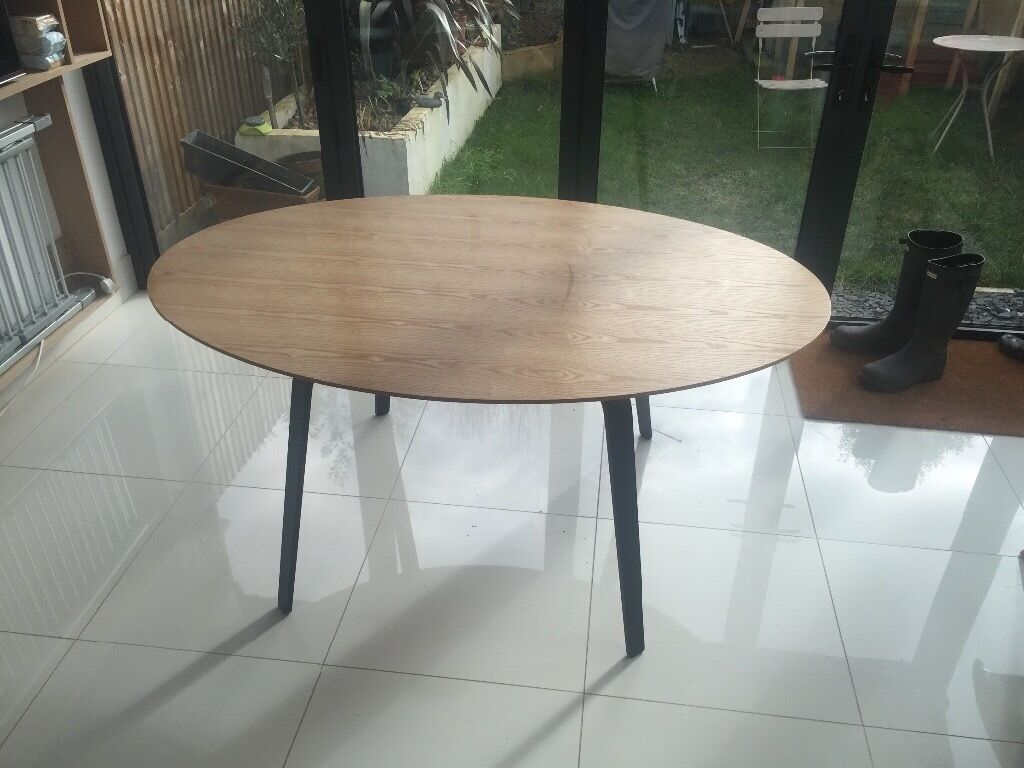 Scandi Style John Lewis Oval Dining Table