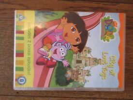Dora the Explorer: City of Lost Toys DVD