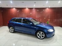 05 AUDI A3 2.0 TDI 140 DSG auto 5 door BOSE+HTD SEATS+XENONS MOT march 2022 HPI CLEAR PX WELCOME