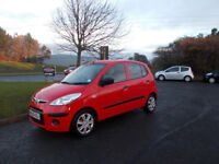 HYUNDAI I 10 HATCHBACK 5 DOOR STUNNING RED NEW SHAPE 89K MILES BARGAIN ONLY £1650 *LOOK* PX/DELIVERY